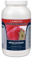 Lamberts Whey Protein Strawberry - 1000 gram - Eiwitshake