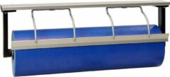 MTis Papierrolhouder Ondertafel Serie 200 Alu - Toonbankrol breedte 70 cm - m lang - Toonbankrol breedte 70 cm - Kartel mes voor folie - - MTok-Ta-2704-Ka