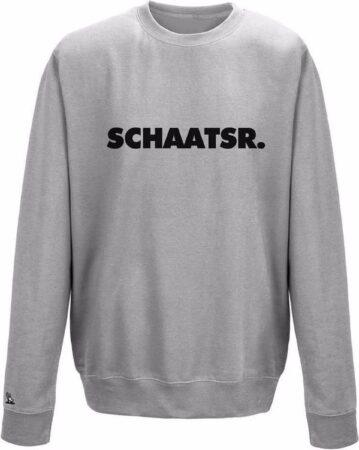 Afbeelding van Grijze Schaats sweater lange baan Pattinaggio
