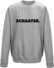 Grijze Schaats sweater lange baan Pattinaggio