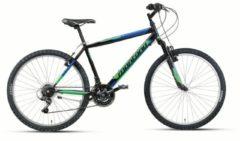 24 Zoll Mountainbike 18 Gang Montana Escape Starrgabel Wham schwarz-grün
