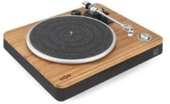 Bruine House of Marley Stir it up - Platenspeler - Zwart