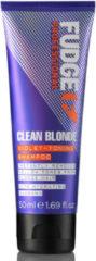 Fudge Professional Fudge Clean Blonde Shampoo 50ml