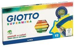 Pastelli Supermina Giotto - assortiti - conf. 12