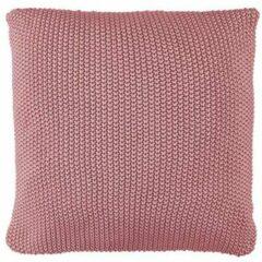 Roze MARC O'POLO Nordic Knit Sierkussen Vierkant Ash rose - 50x50 cm
