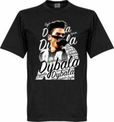 Merkloos / Sans marque Paulo Dybala JUVE Celebration T-Shirt - Zwart - M