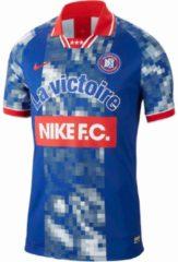 Nike FC Football Jersey Sportshirt - Maat XL - Mannen - blauw/rood/wit