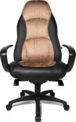 Topstar Chefsessel Speed Chair, Lederoptik braun