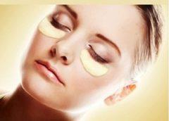 Crystal collagen Collageen oogmasker - Wallen en donkere kringen wegwerken - 24k goud oog masker met collageen - 20 Stuks (10 Paar)