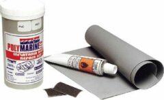 Polymarine Opblaasboot PVC reparatieset grijs