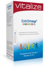 Vitalize ExtrOmega kindervisolie 60 kauwcapsules