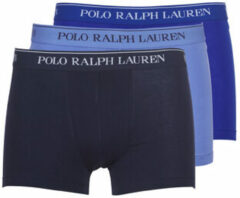 Blauwe Boxers Ralph Lauren CLASSIC-3 PACK-TRUNK