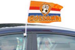 Oranje Folat Autovlag Holland Leeuw 30x45cm