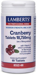 Lambert-S Lamberts - Cranberry Tabletten - 60 tabletten