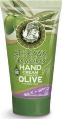 Pharmaid Athenas Treasures moisturizer Handcrème Bio Olive en SPF15 100ml | Natuurlijk Goed