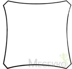 Creme witte Merkloos / Sans marque Schaduwdoek - Zonnezeil - Vierkant 3.6 X 3.6M -Kleur: Creme