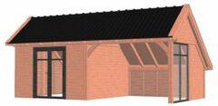 Van Kooten Tuin en Buitenleven Kapschuur De Hoeve XL 770x440 cm - Combinatie 1