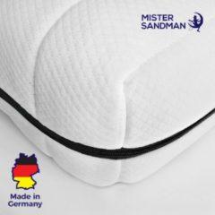 Witte Mister Sandman Matras - 80x200 - 7 zones - koudschuim - premium plus tijk - 15 cm - twijfelaar bed