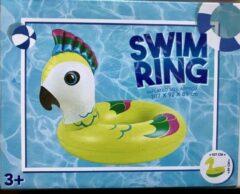 ZD Trading Kleurrijke Zwemband Kaketoe - opblaasbaar - L107xB92xH89