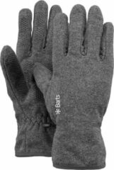 Licht-grijze Barts Fleece Gloves Unisex Handschoenen - Heather Grey - Maat S