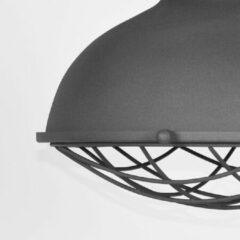 Grijze Budget Design Store LABEL51 - Hanglamp Grid 34x34x39 cm