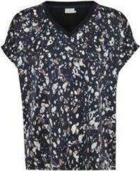 Blauwe KAFFE - kabita line blouse