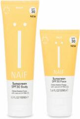 Naif Feeling Sunny Klein Zonnebrand Pakket