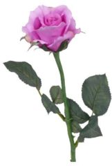 Plants Kunst rozen paars 58 cm
