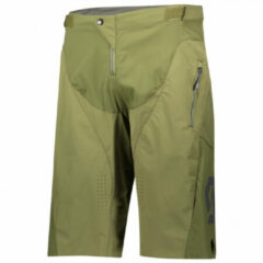 Scott - Trail Vertic Pro Shorts with Pad - Fietsbroek maat S, grijs/zwart/zwart/purper/zwart/rood/zwart/beige/wit/rood/oranje