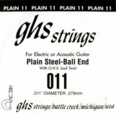 GHS .011 snaar voor elektrische gitaar