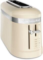Creme witte KitchenAid Design collectie met 1 sleuf Amandelwit
