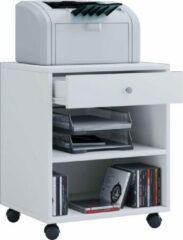 Vcm Ladeblok bureau kastje verrijdbaar wit