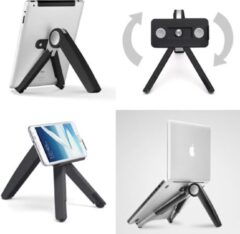 Ergoline Cricket Multi Laptophouder, Tablethouder, Telefoonhouder Zwart