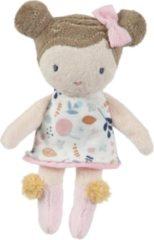 Roze Little Dutch pop Rosa knuffel 10 cm