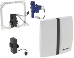 Geberit Basic urinoir stuursysteem infrarood batterijvoeding 16x16cm voor frontbediening alpien wit