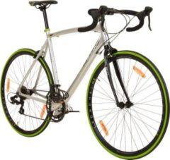 Galano Vuelta STI 28 Zoll Rennrad 700C 4 Rahmengrößen 2... grau/grün, 62 cm