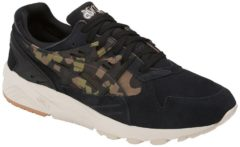 Asics Lifestyle Men's Gel Kayano Suede Trainers - Black/Martini Olive - UK 8 - Black/Green