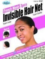 Zwarte Dream World Dream Invisible Hair Net