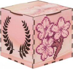 Wizardi Diamond Painting hout Sakura Houten box