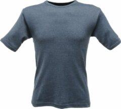 Marineblauwe senvi thermo cool t shirt kleur denim maat