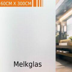 Simple Fix Raamfolie - 60cm x 300cm - Melkfolie - Plakfolie - Zelfklevend - Statisch - Privacy Verhogend - Anti Inkijk