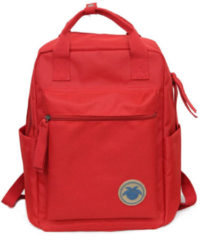 Meco 10L Canvas Backpack Student Bag Camping Waterproof Handbag 14 Inch Laptop Bag