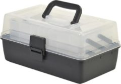Transparante Shakespeare Tackle Box 2 Cantilever - Viskoffer
