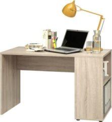 Baidani CS Schmal Schreibtisch P82 500 Eiche 120x60x73cm (B/T/H)