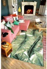 Webteppich 'Maiko' Tom Tailor Grün