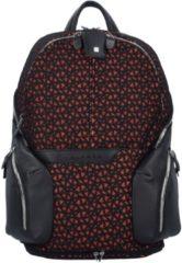 Coleos Rucksack Leder 36 cm Laptopfach Piquadro black