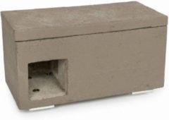 Wildbird Nestkast Huismussen - Broeden - 32x15.6x16.6 cm Grijs