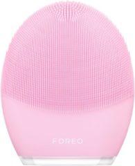 Roze FOREO LUNA 3 Sonic gezichtsreiniger en massage-apparaat tegen de tekenen van veroudering voor normale huid