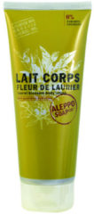 Aleppo Soap Co. Fleur De Laurier Laurel Blossom Body Lotion Melk Alle Huidtypen 200ml