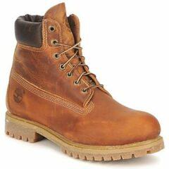 "Bruine Boots en enkellaarsjes Heritage 6"" Premium by Timberland"